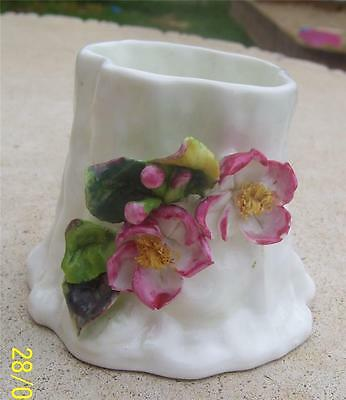 Pretty Vintage Royal Worcester Floral Pot Vase