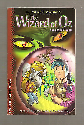 The Wizard of Oz graphic novel   like new 2005