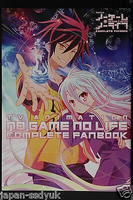 JAPAN TV Anime No Game No Life Complete Fan Book