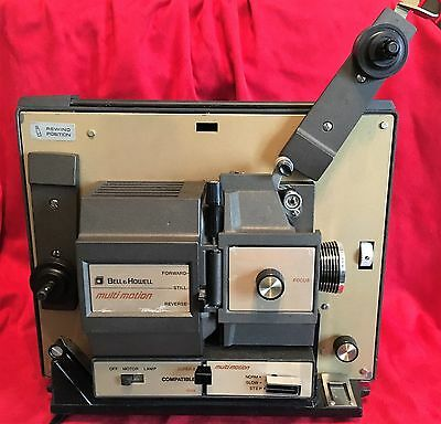 Bell Howell 471Z Autoload Dual 8mm Super 8 Movie Film Video Cinema Projector VTG