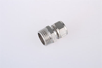 1/2BSP Male Thread Straight Pneumatic Fittings 14mm Tube Dia Quick Coupler