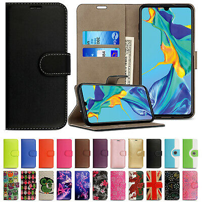 Case For Huawei P20 Lite P30 Pro P Smart leather Cover Flip Smart Stand Wallet