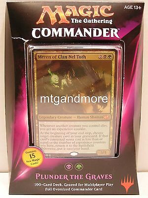 Magic Commander 2015 Deck: Plunder the Graves