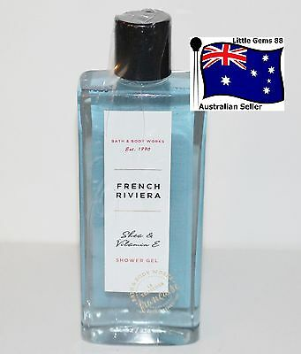 BATH & BODY WORKS ** French Riviera ** Scented SHOWER GEL 295ML