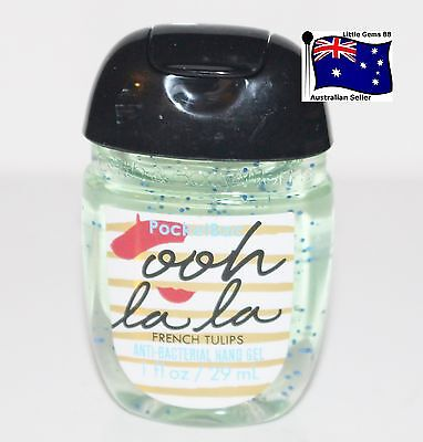 BATH & BODY WORKS 1 Ooh La La ~ French Tulips Scented Pocketbac HAND GEL