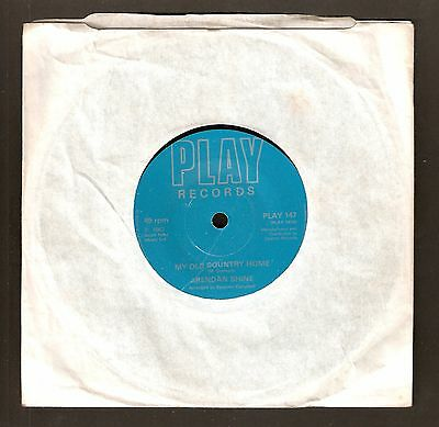 """Brendan Shine - My old country home Bw When I got Lucille  7"""" vinyl 1982"""