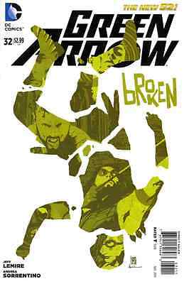 Green Arrow (5th Series) (2011) #32   VF/NM