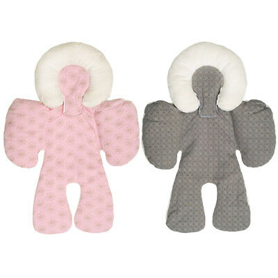 2pc New Baby Stroller Cushion Pad Car Seat Liners Soft Blanket for Baby Care