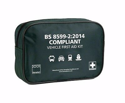 Steroplast BS8599-1:2014 Vehicle First Aid Kit Bag - Medium