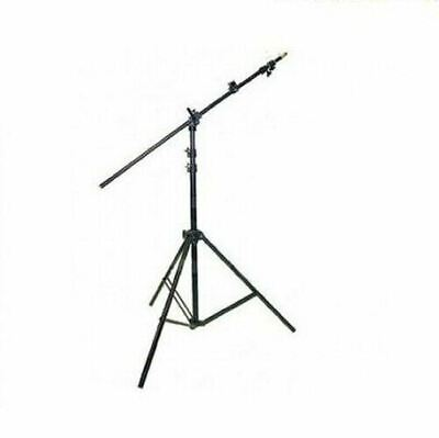 Ex-Pro Collapsible Studio Photo Reflector Holder Boom Arm Grip with Light Stand