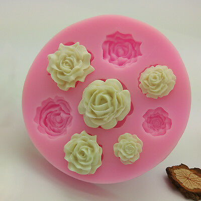 Flower Silicone Mold Fondant Cake Decorating DIY Sugarcraft Baking Mould Tool