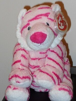 Baby Ty ~ BABY GROWLERS the Pink Tiger - MINT with MINT TAGS