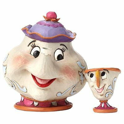 Officially Licensed Disney Mrs. Potts and Chip A Mothers Love Figurine