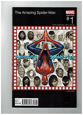 AMAZING SPIDER-MAN #1  Hip Hop Variant Cover                / 2015 Marvel Comics