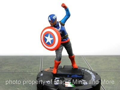 Avengers Defenders War -  CAPTAIN AMERICA #069 HeroClix CHASE rare miniature #69
