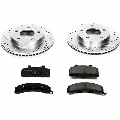 Powerstop Brake Disc and Pad Kits 2-Wheel Set Front New Chevy Olds K1487