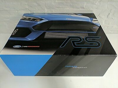 Ford Focus Rs Performance Owner'S Kit