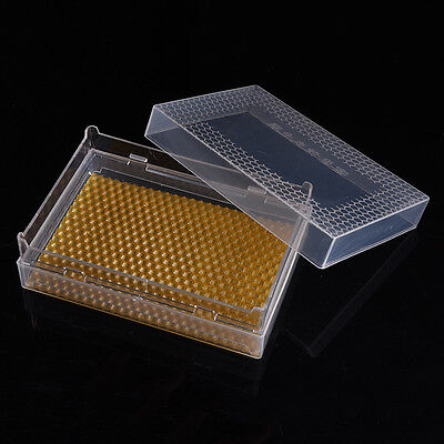 Clear Honey Lattice Produce Box Bee Hive Frame Beehive Beekeeping Tool Equipment