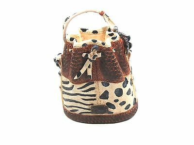 Just the right shoe **You Animal You!  Purse** 26311 Jahr 2000 Miniatur - Tasche