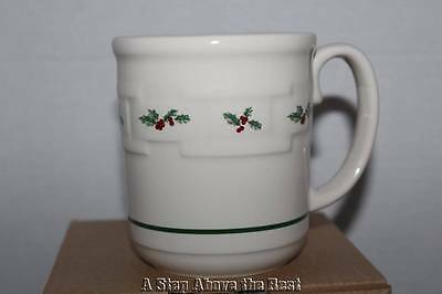 Longaberger Woven Traditions Traditional Holly Mug #33626180 New