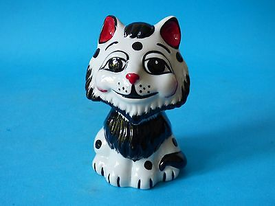 Ultra Rare Lorna Bailey Stylised Pottery Grouch Tex Mack Cat 1 Off Free Uk Pp #4