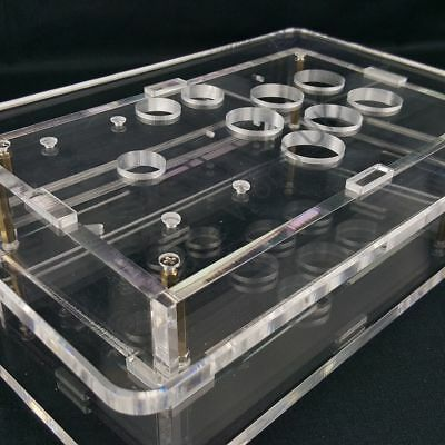 Transparent Empty Fight Stick Case – Build Your Own Arcade Project