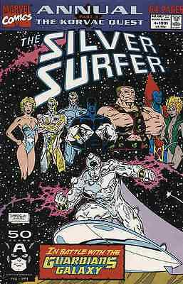 The Silver Surfer (Vol. 3) (1987) #Anl 4   VF/NM
