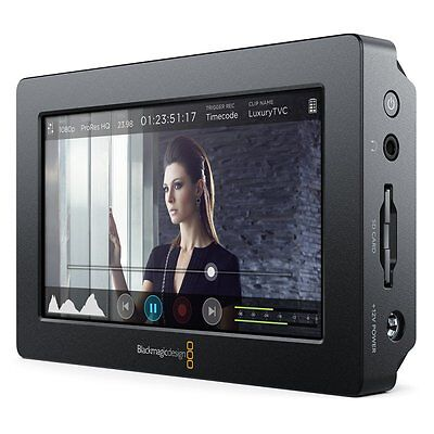 Blackmagic Design Video Assist, Monitor und Rekorder