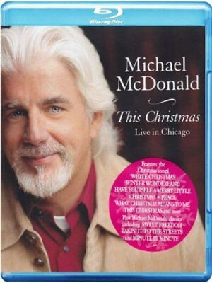 McDonald, Michael +BONUSTRACK - This Christmas - Live In Chicago BluRay NEU OVP
