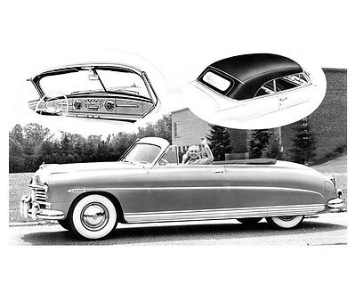 1948 Hudson Convertible Brougham Factory Photo uc0452