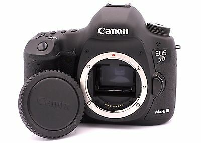 Canon EOS 5D Mark III 22.3MP Digital SLR Camera - (Body Only) Shutter Count: 874