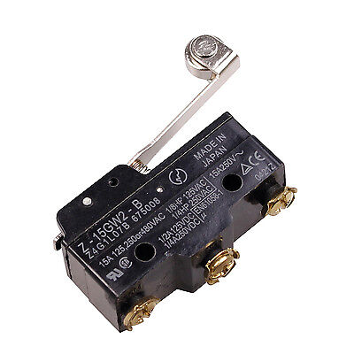 SPDT Momentary Roller Lever Basic Micro Limit Switch Z-15GW2-B