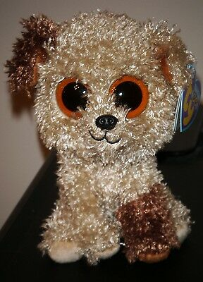 "Ty Beanie Boos - ROOTBEER the 6"" Dog - MINT with MINT TAGS - Original Version"