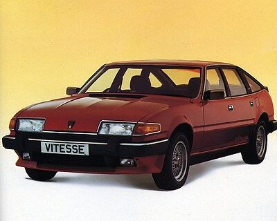 1983 Rover Vitesse Factory Photo ca6559