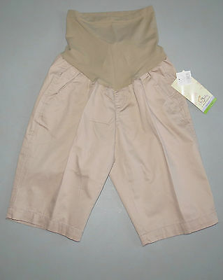 MATERNITY Shorts SMALL NEW Motherhood Oh Baby NWT Secret Fit Bermuda Short S 4 6