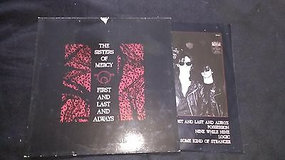 THE SISTERS OF MERCY - First And Last And Always - Vinyl LP *Inner Sleeve*