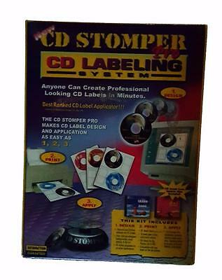 CD Stomper Pro Labeling System Office Supply Industrial Business Label Design