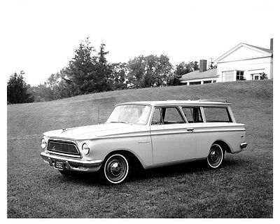 1962 Rambler American Factory Photo uc0561