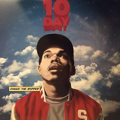 "Chance The Rapper "" 10 Day "" ** Double Coloured Vinyl ** Ltd Edition Lp"