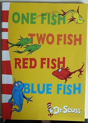 One Fish, Two Fish, Red Fish, Blue Fish by Dr. Seuss - Blue Back Book