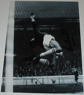 Peter Bonetti Chelsea Personally Signed 10X8 Autograph Photo Soccer
