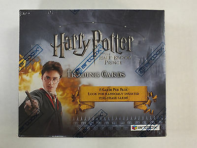 Harry Potter And The Half-Blood Prince Retail Box Artbox 24 Packs SEALED