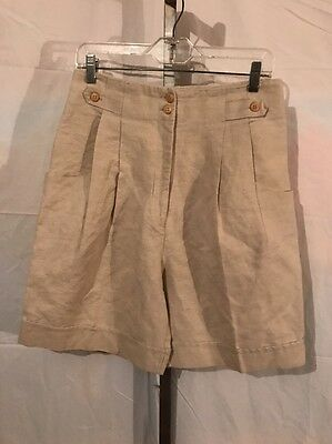 Woman's Kerry McGee High Waisted Vintage 1980's Short Size 12-M