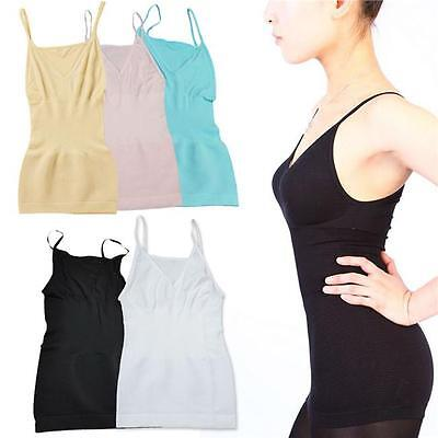 Women Slimming Tank Top Tummy Control Sleeveless Vest Cami Shaper Body ShapeWear