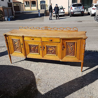 Rare Original Italian Design Sideboard From 1950 Pier Luigi Colli