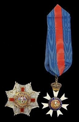 The Most Distinguished Order Of St Michael And St George, K.c.m.g 20Th Century