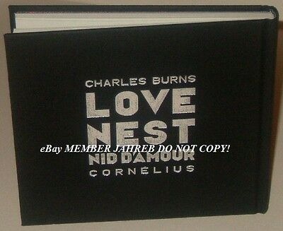 Charles BURNS LOVE NEST NID D'AMOUR Exclusive French Euro HC Cornelius 2016 New