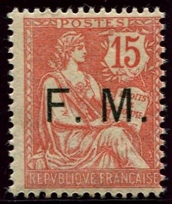 Lot N°3756c France Franchise Militaire N°2 Neuf ** LUXE