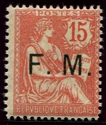 Lot N°3756f France Franchise Militaire N°2 Neuf ** LUXE