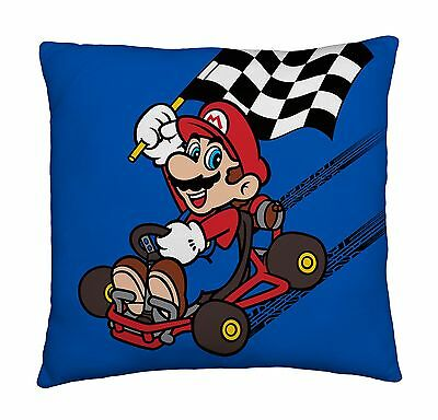 New Nintendo Super Mario Super Soft Cushion Boys Kids Bedroom Travel Pillow Gift